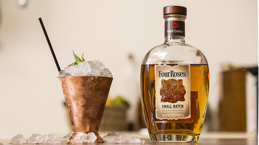 mint julep, four roses small batch, four roses