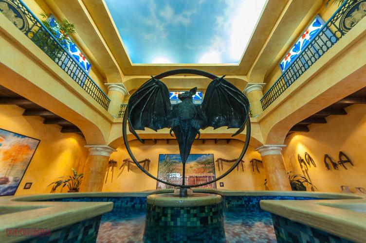 Casa Bacardi Colonial Courtyard Fountain - photo by disneycruiselineblog.com  <a href=