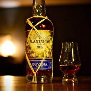 Plantation Guyana 2005, rum tasting, Αφοί Τσακνάκη