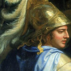 Μέγας Αλέξανδρος, λευκός ελλέβορος