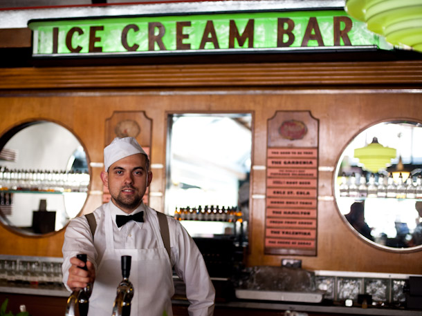 Ice Cream bar, photo by sweets.seriouseats.com