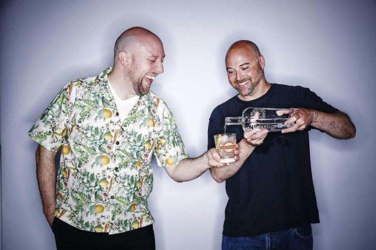 Οι δύο ιδιοκτήτες του Whitechapel, ο Martin Cate και ο Alex Smith. Photo by Russell Yip, The Chronicle