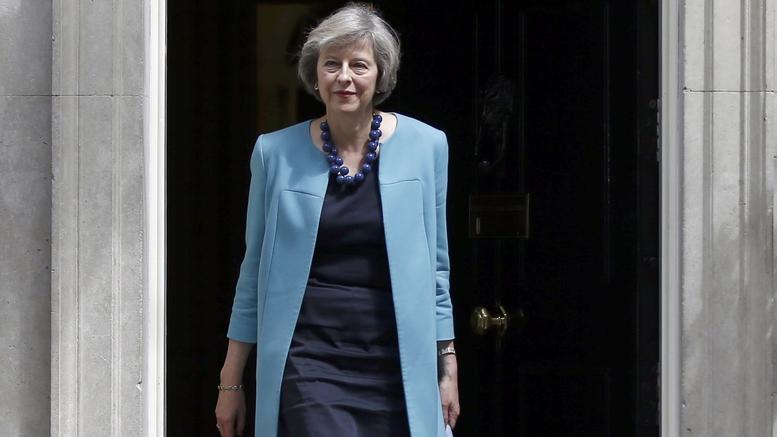 Η Πρωθυπουργός της Μ. Βρετανίας Theresa May
