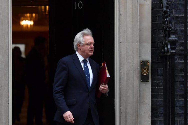 Ο βρετανός David Davis, γραμματέας του κράτους για το Brexit