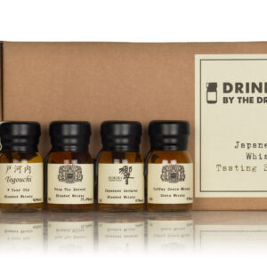Japanese whisky tasting set, drinks by the dram