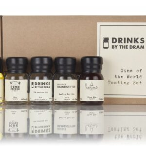 Gins of the world tasting set, drinks by the dram