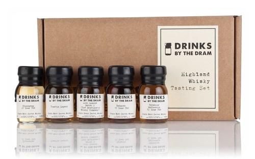 highland whisky tasting set, highland whisky
