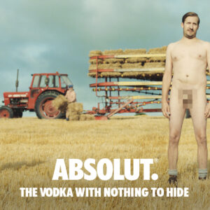 Absolut, Διαφήμιση