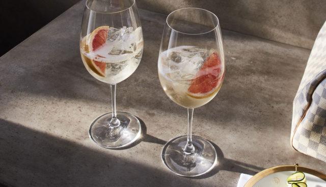 πάγος στο κρασί