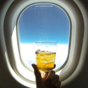 αλκοόλ στο αεροπλάνο