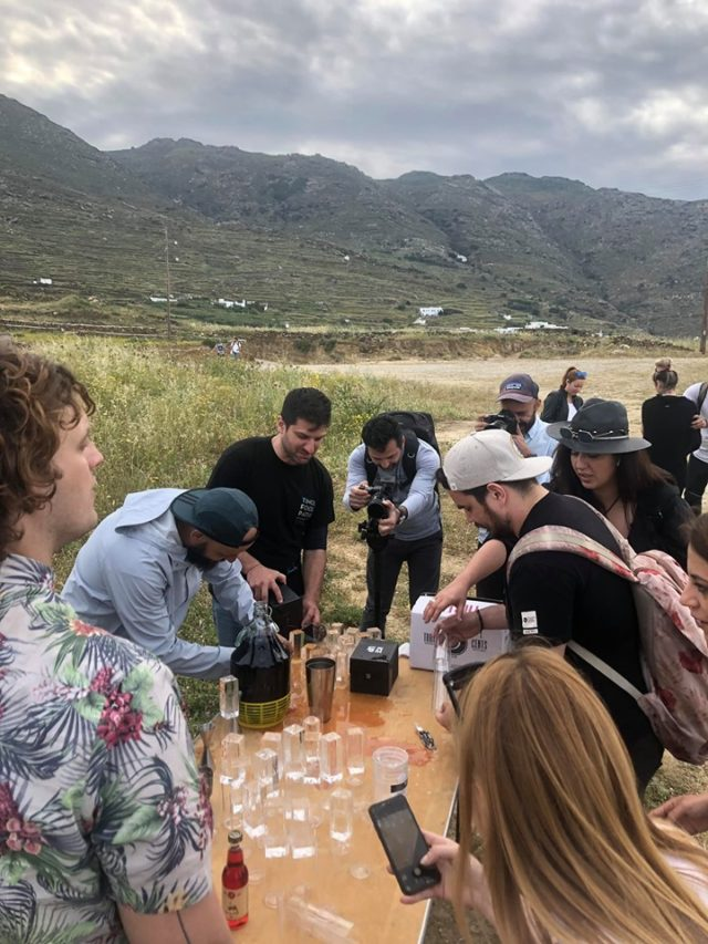 Aegean Cocktails and Spirits