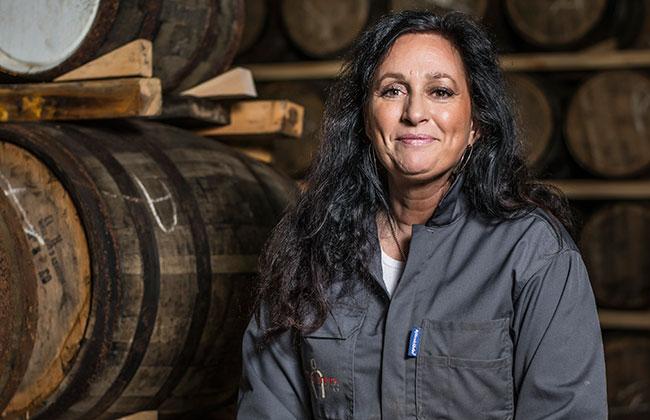 Η Angela D'Orazio, Master Blender της Mackmyra