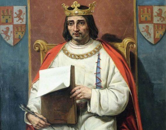 Ο Βασιλιάς Αλφόνσος Ι' της Καστίλης