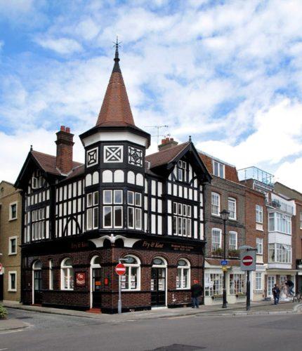 Η πρώην pub Seagull, στο Πόρτσμουθ