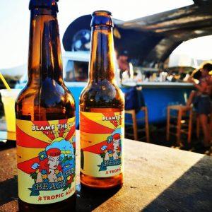 συνδυασμός φαγητού και μπίρας