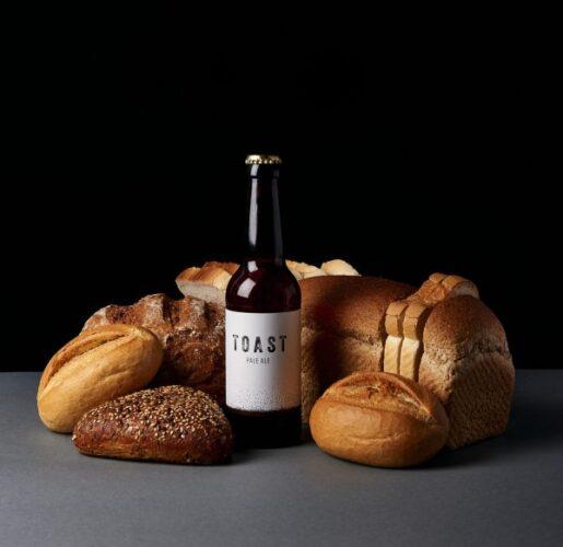 μπίρα με ψωμί